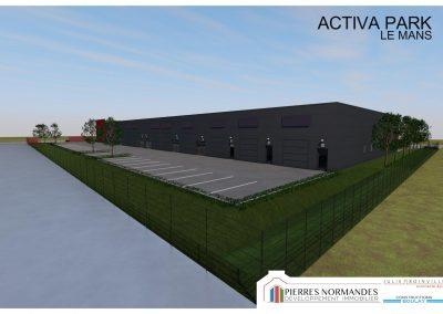 Programme immobilier entreprise - ACTIVA PARK LE MANS - 00001