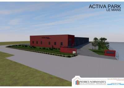 Programme immobilier entreprise - ACTIVA PARK LE MANS - 00002