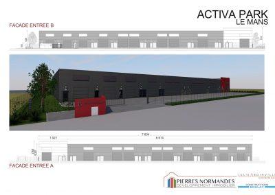 Programme immobilier entreprise - ACTIVA PARK LE MANS - 00005